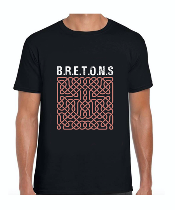 Tee-shirt BRETONS homme 'entrelacs'